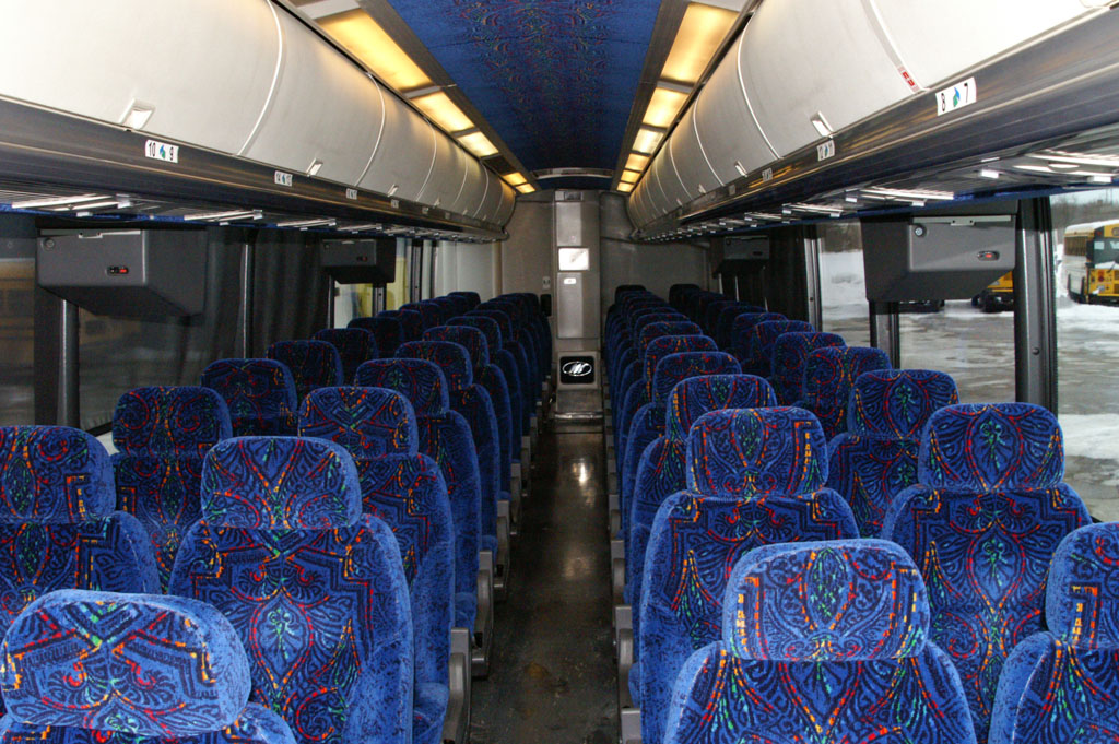 Charmant Typical Motor Coach Interior