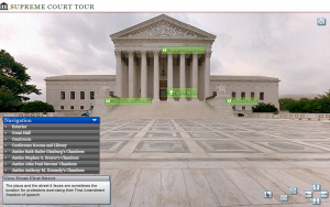 Take a virtual tour of the Supreme Court