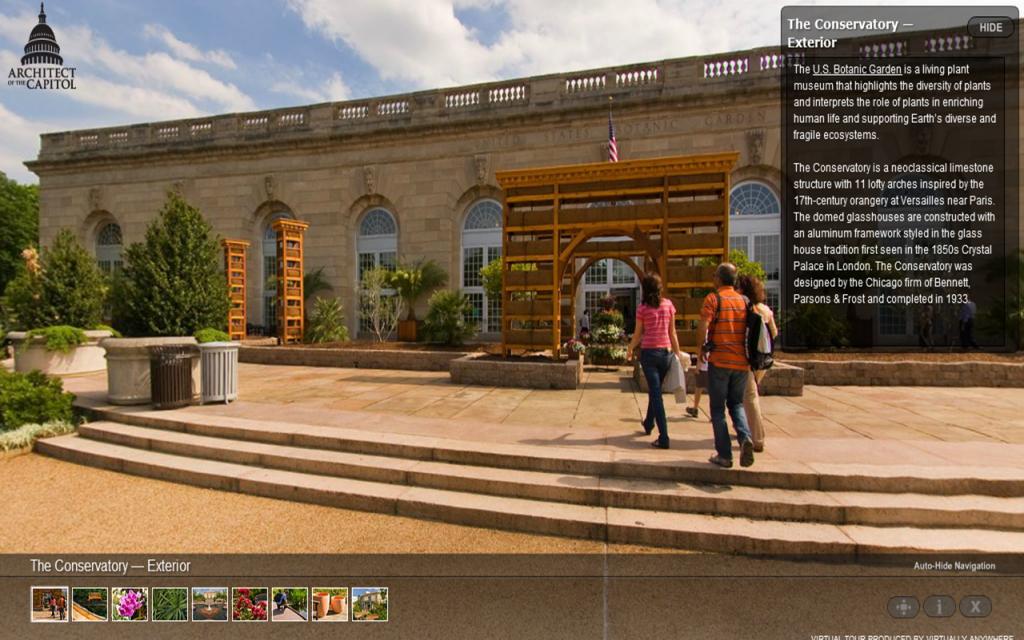 Tour the United States Botanic Garden