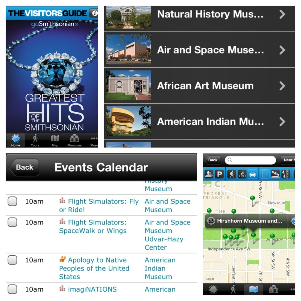 Smithsonian Museum Tour App, Must-Have Apps