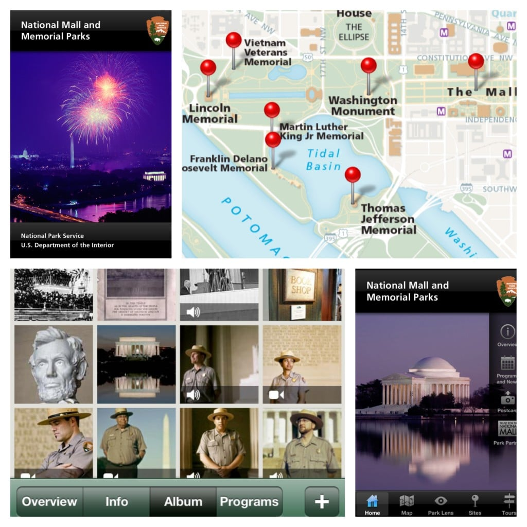 NPS National Mall, Must-Have Apps
