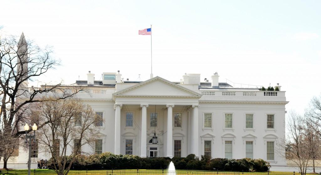 Flag over White House