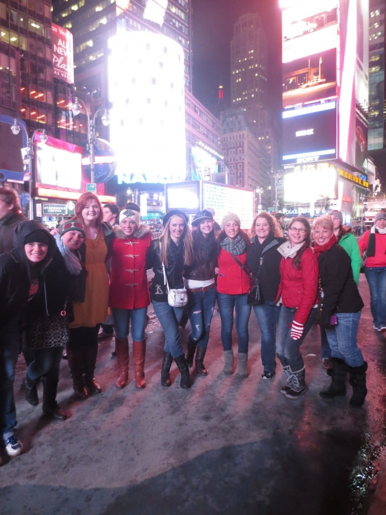 Willapa Valley High School Fbla Takes On New York City