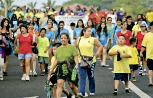 fundraisers: walk-a-thon