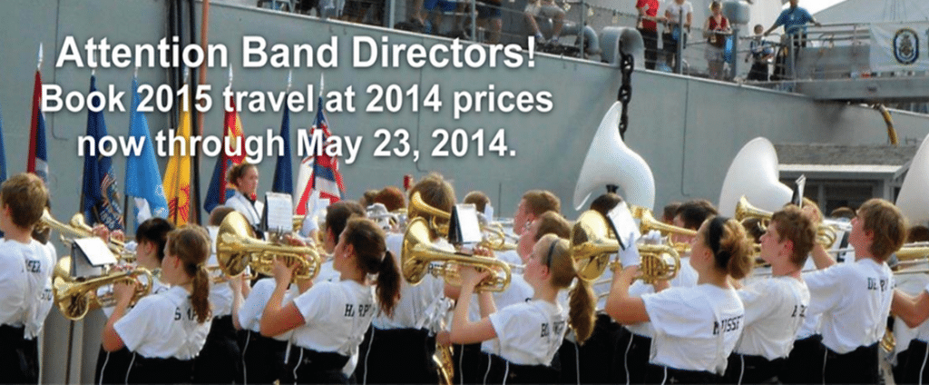 Marching Band Travel Sale