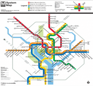 30 Washington DC Maps Attractions and Public Buildings
