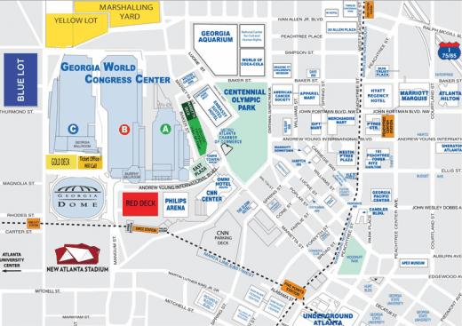 Useful Atlanta Maps For School Trips